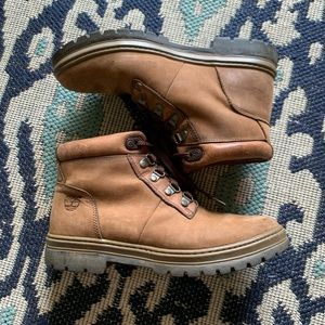 Timberland Shoes - Vintage Timberland Leather Hiking Boots Sz 9